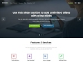 Businessx Company Website Free WordPress Theme Download Link