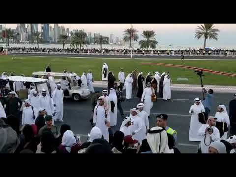 sheikh tamim on 18.12.2017 qatar national day