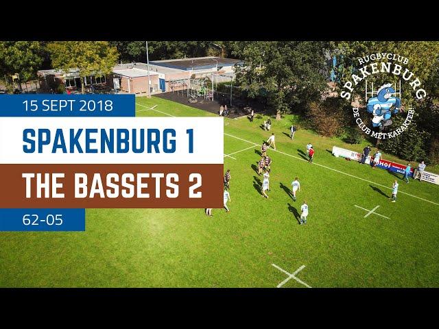 RC Spakenburg 1 - The Bassets 2 | 62-5 | 4K