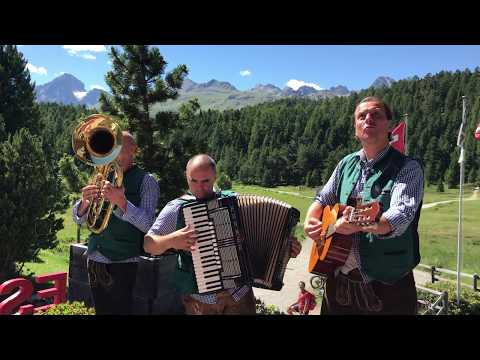 So nice: bavarian & german folk music in St. Moritz Switzerland