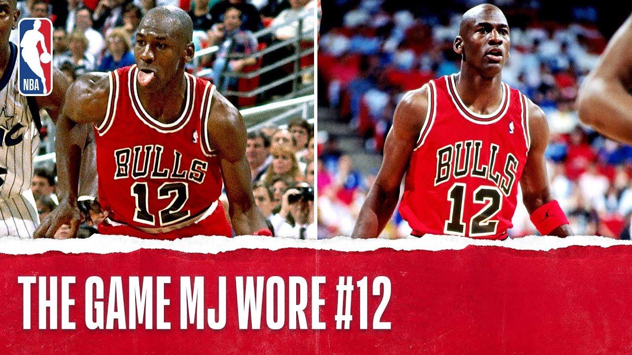 Michael Jordan Wore Number 12??