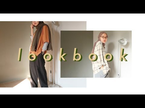 A (very) LAID-BACK HIJAB LOOKBOOK - YouTube
