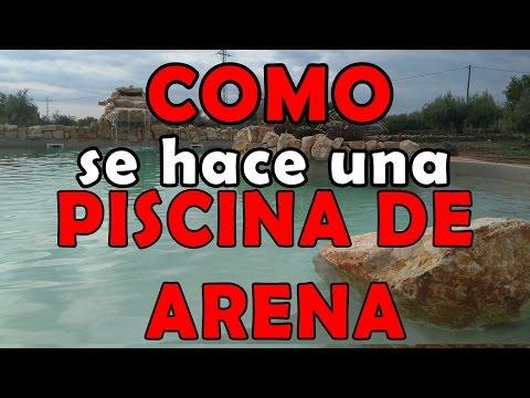 Como se hace una piscina de arena microcementos online for Como se construye una piscina