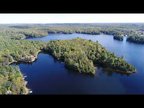Gooderham Lake In Ontario Canada