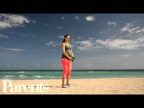 Celebrity Pregnancy Workout: Total Body Tune-Up | Parents