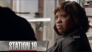 Bailey Gives Ben a Pep Talk – Station 19 Season 1 Episode 1
