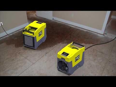 2020 AlorAir SLGR Commercial Dehumidifier VS  Dri-Eaz LGR Dehumidifier VS Phoenix LGR Dehumidifier
