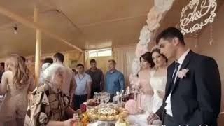 Трогательное пожелания  бабушки жениху и невесте