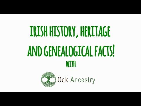 Irish Genealogy & History Facts: Irish Population Facts!