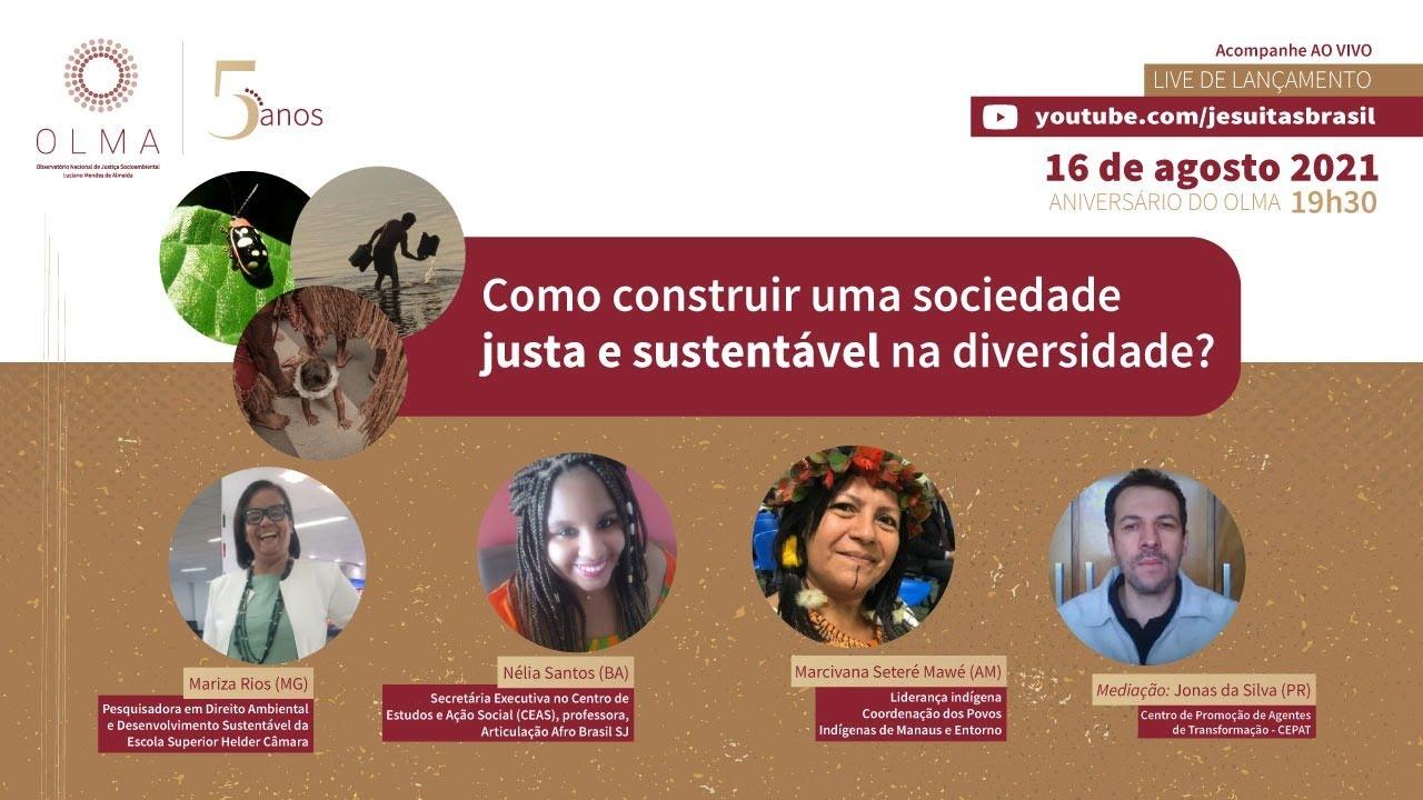 Download OLMA 5 Anos - Como construir uma sociedade justa e sustentável na diversidade?