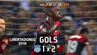 Emelec (EQU) 1 x 2 Flamengo - Libertadores 2018 - Globo HD⁶⁰