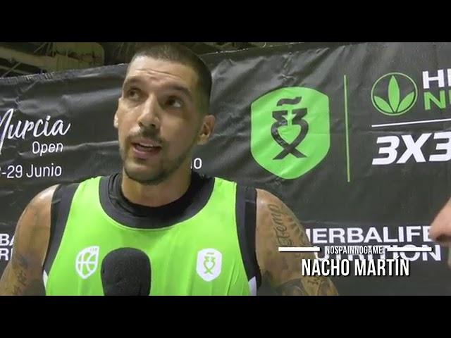 Nacho Martín valora el Herbalife 3x3Series