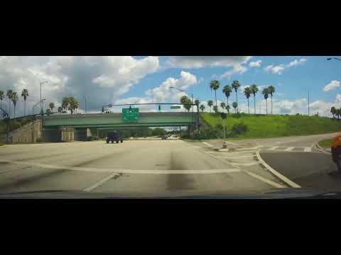 Driving Through Lakeland, Florida