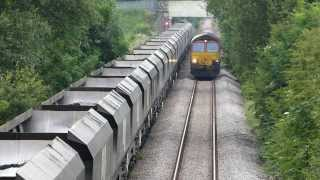 Activity at Dinnington Junction on the South Yorkshire Joint line
