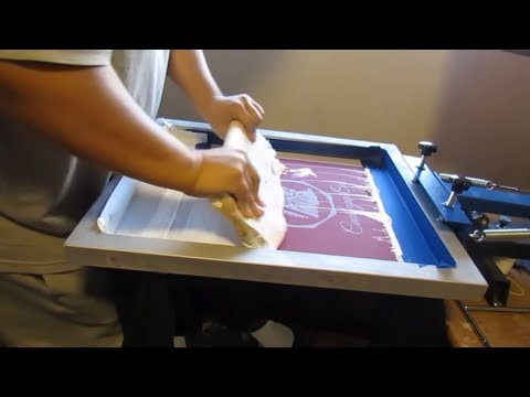 Best Beginner Screen Printing Video And Starter Kit