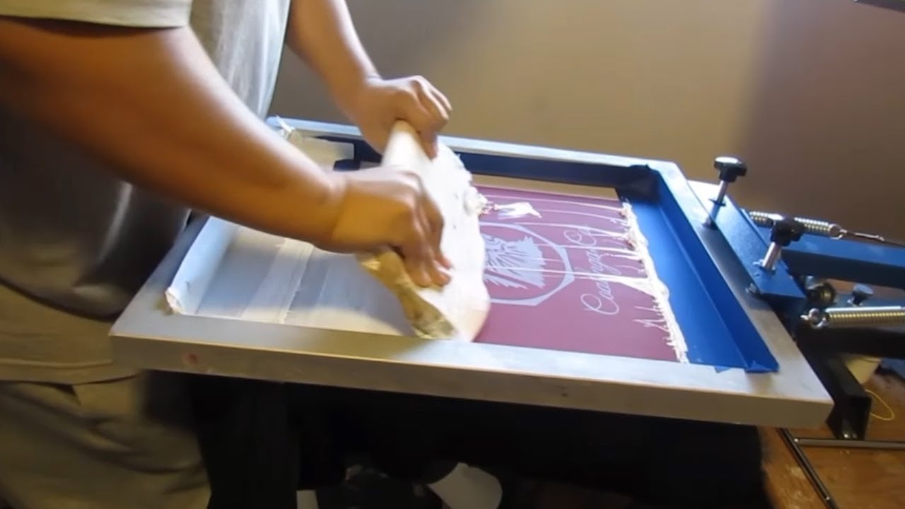 Kết quả hình ảnh cho screen printing