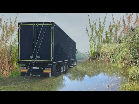 Трасса Залесск - Приозерск - Карта из Дальнобойщики 2 в Euro Truck Simulator 2