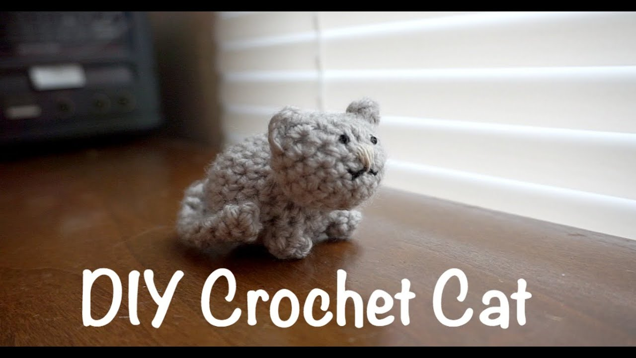 DIY Crochet Cat - YouTube
