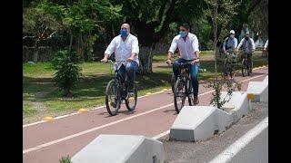 Ciclovía en Chapala