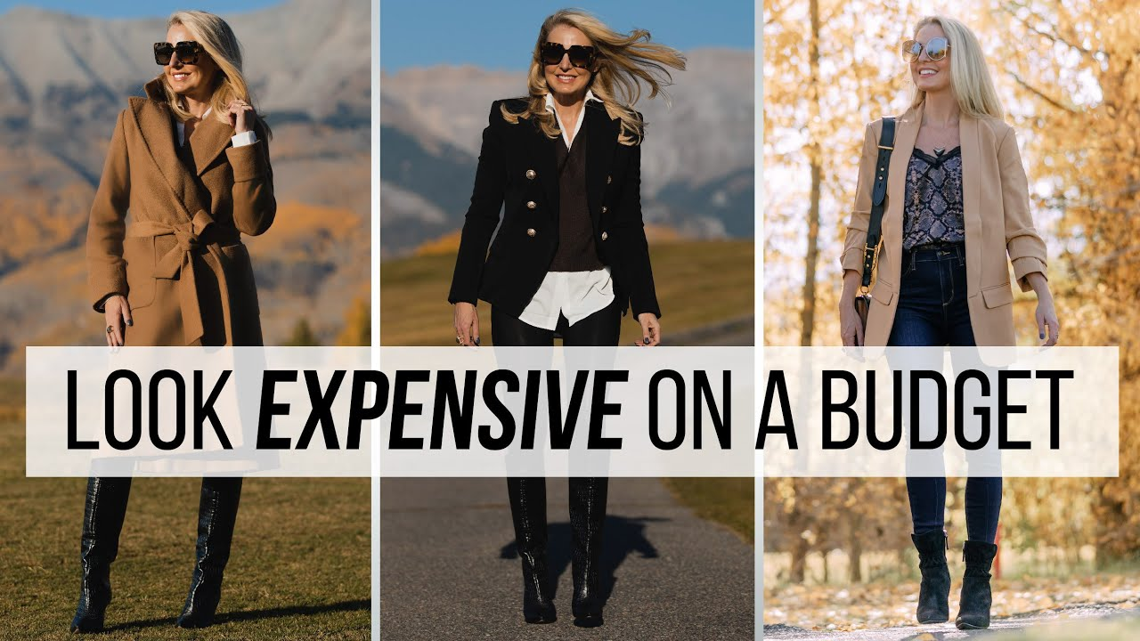 *LOOK EXPENSIVE* On a Budget | Fall Winter 2020 Edition (Fashion Over 40)