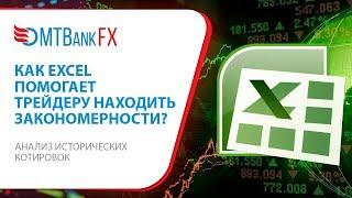 Как Excel и исторические котировки помогают трейдеру находить рыночные закономерности?