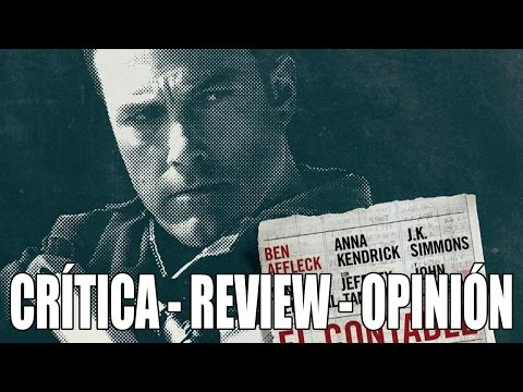 El contable - CRÍTICA - REVIEW - OPINION - The Accountant - John Doe - Ben Affleck - J.K Simmons