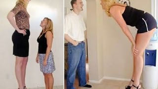 Top 10 Unbelievable Tallest Women in the World