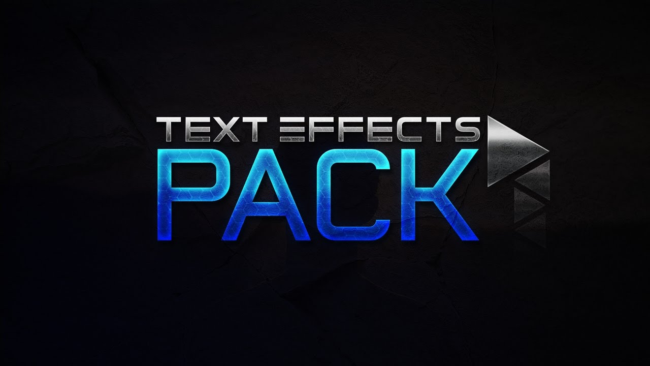 FREE Text Effects Pack // By CleanUpGuy // Photoshop