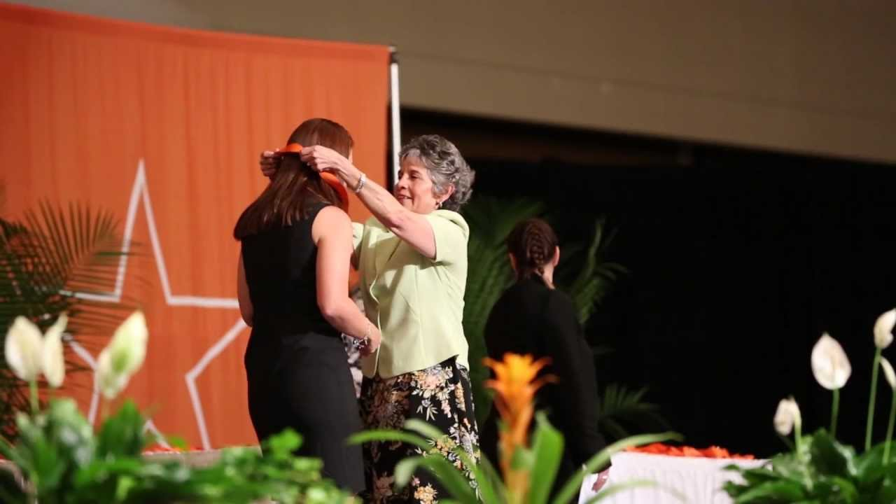 UTMB School of Nursing Pinning Ceremony 2013 - YouTube