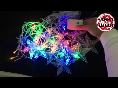 🎄🎄КРУТАЯ Новогодняя гирлянда светодиодная с Алиэкспресс🎄🎄  Китайская гирлянда занавес 2019