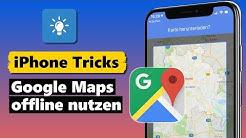 Google Maps offline nutzen (inkl. Routen-Navigation)