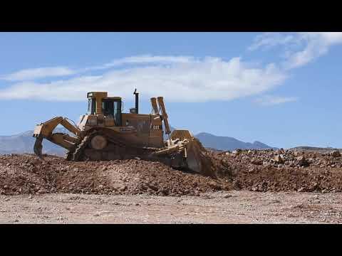 CAT D10R Dozer Expanding a Park in Southwest Las Vegas