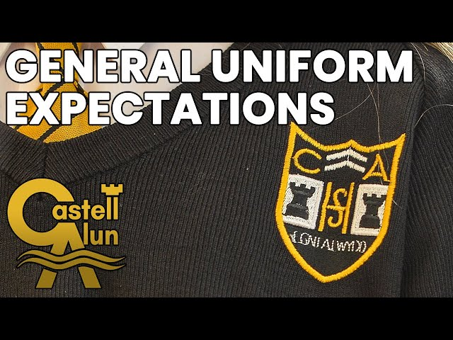 CAHS - General Uniform Expectations 2021