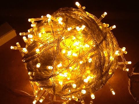 Smokin' Ebay 100, 200 And 500 LED Fairy Light Strings From China.