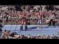 John Cena, Batista & Rey Mysterio vs Randy Orton & Jeri-Show - Tribute to the Troops 2008