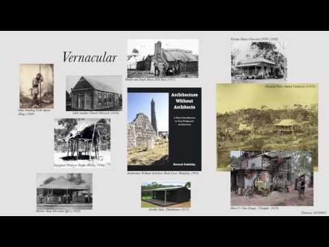 BAS250 A2 The Idea of the Vernacular - Architecture as Identity in Australia.