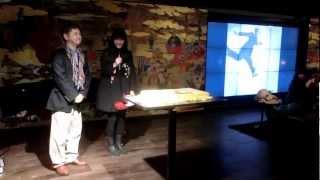 2013年3月27日写真家植田正治生誕100年を記念しての誕生パーティで、写...