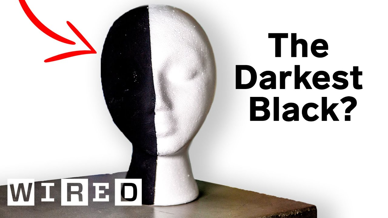 The Darkest Black on Earth? Why Scientists & Artists Want the World's Blackest Substances