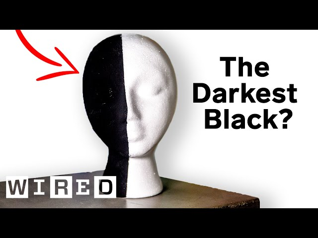 The Darkest Black on Earth? Why Scientists & Artists Want the World's Blackest Substances   WIRED