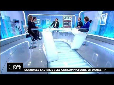 Scandale Lactalis : les consommateurs en danger ? #cdanslair 12.01.2017