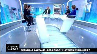 Scandale Lactalis : les consommateurs en danger ? #cdanslair 12.01.2018