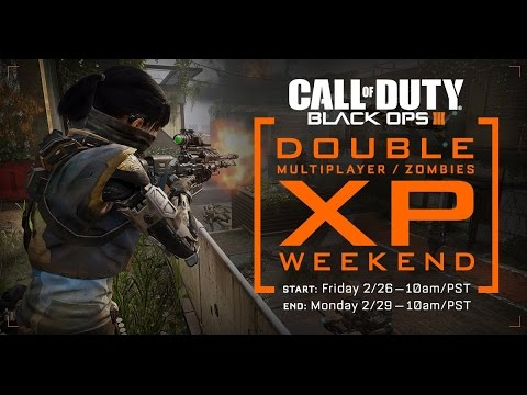 NEW BLACK OPS 3 DOUBLE XP WEEKEND! HOW TO UNLOCK DARK MATTER CAMO EASY THIS WEEKEND! BO3 2XP WEEKEND