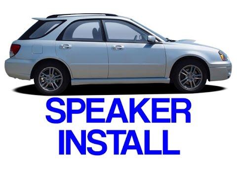 subaru impreza wrx 2002 2007 speaker install door panel removal saab 9 2x aero youtube. Black Bedroom Furniture Sets. Home Design Ideas