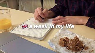 eng) London Vlog 🇬🇧조별 과제삿날, 아이패드 왔다, 혼자 잘 살기, 런던 캠든 마켓 (더보기 참조)