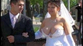 Невесты зажигают!! Супер смешная подборка свадебных казусов:))