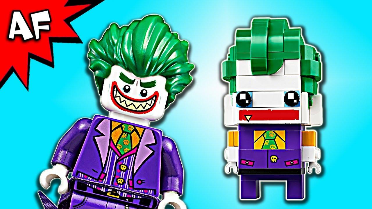 lego batman movie brickheadz the joker 41588 speed build. Black Bedroom Furniture Sets. Home Design Ideas