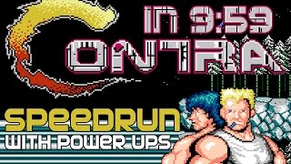 [Speedrun] Contra Any% in 9:59
