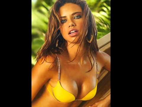 yellow Adriana lima