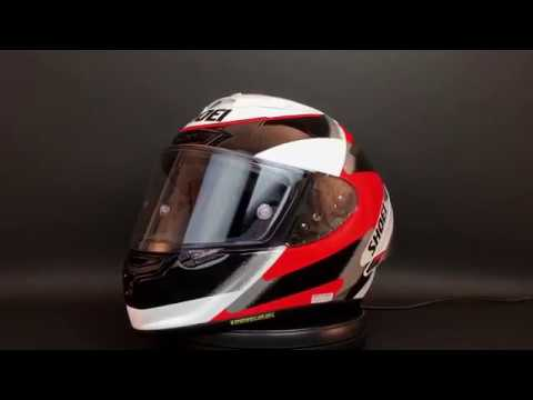 Shoei X-Fourteen Rainey Helmet 360° View