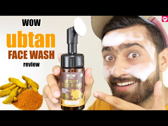 WOW UBTAN FACE WASH REVIEW | FACE WASH FOR GLOWING SKIN | QUALITYMANTRA